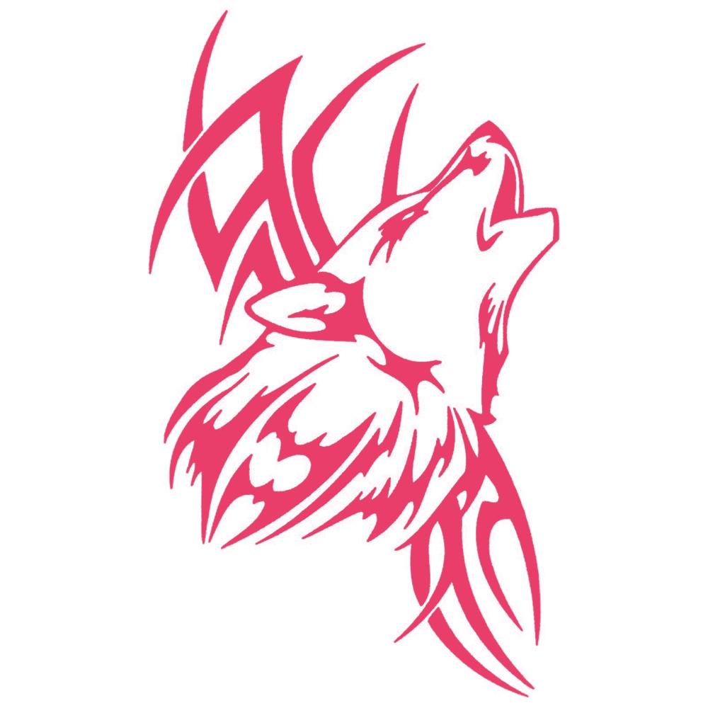 8 915 cm tato stiker serigala mobil serigala hewan motor vinyl decals kreatif kartun jendela stiker aksesoris mobil styling di mobil stiker dari mobil