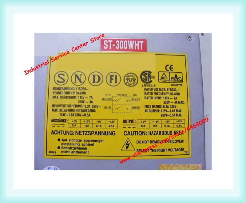 ST-300WHT 300W AT Industrial Power SupplyST-300WHT 300W AT Industrial Power Supply