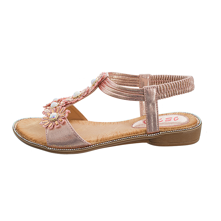 MLJUESE 2018 vrouwen sandalen zomer BOXIMIYA stijl elastische band - Damesschoenen - Foto 4