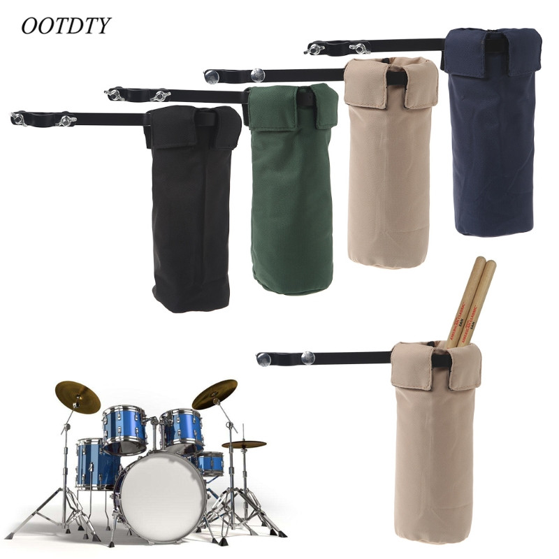 OOTDTY Drum Sticks Holders Clip On Stand Drumsticks Cases Drummer Accessories New image