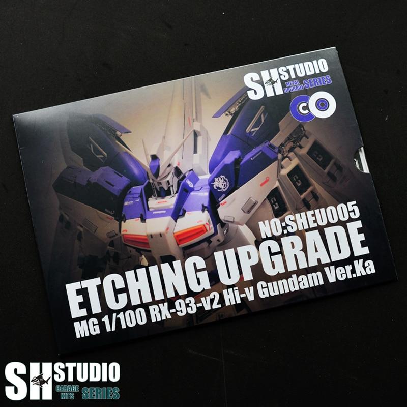 SH STUDIO MG 1/100 HI-V Manatee Ver Ka Gundam Special Metal Etching Sheet  Action Diagram Model Detail Modification Repair