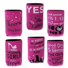 Girl-inspired beer coolers (6pcs set)