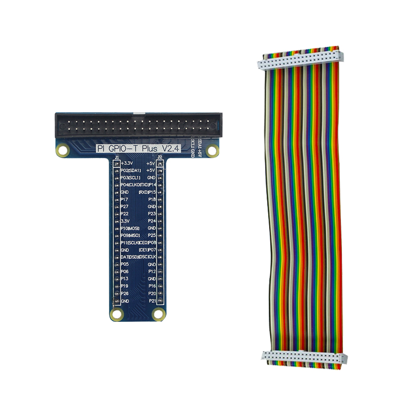 High Quality GPIO <font><b>Board</b></font> with 40 Pin GPIO Female to Female Cable for Raspberry <font><b>Pi</b></font> <font><b>3</b></font> Model B+ ( B Plus ) for <font><b>Orange</b></font> <font><b>Pi</b></font> PC image