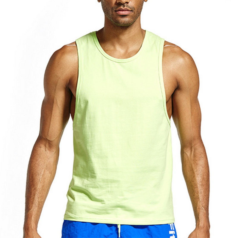 Mens Tank Tops Men Cotton Vest Fitness Singlet Shirt Summer Sleeveless Undershirt Bodybuilding Gym Muscle Casual Tops Clothing