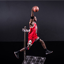 Chicago Bull American Legend basketball super star away game No.23 MJ Action figure Michael Jordan 22cm 1:9 scale model doll toy