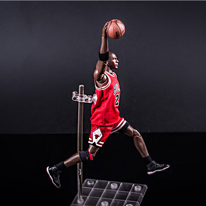 Chicago Taureau Légende Américaine de basket-ball super star match No 23 MJ figurine Michael Jordan 22cm 1:9 échelle modèle poupée jouet