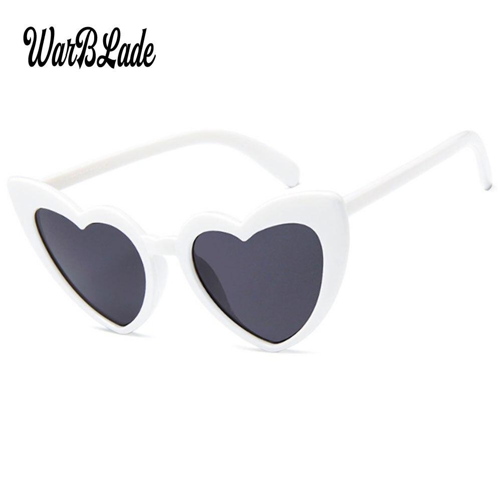 Heart Sunglasses Women brand designer Cat Eye Sun Glasses Retro Love Heart Shaped Glasses Ladies Shopping Sunglass UV400 2018