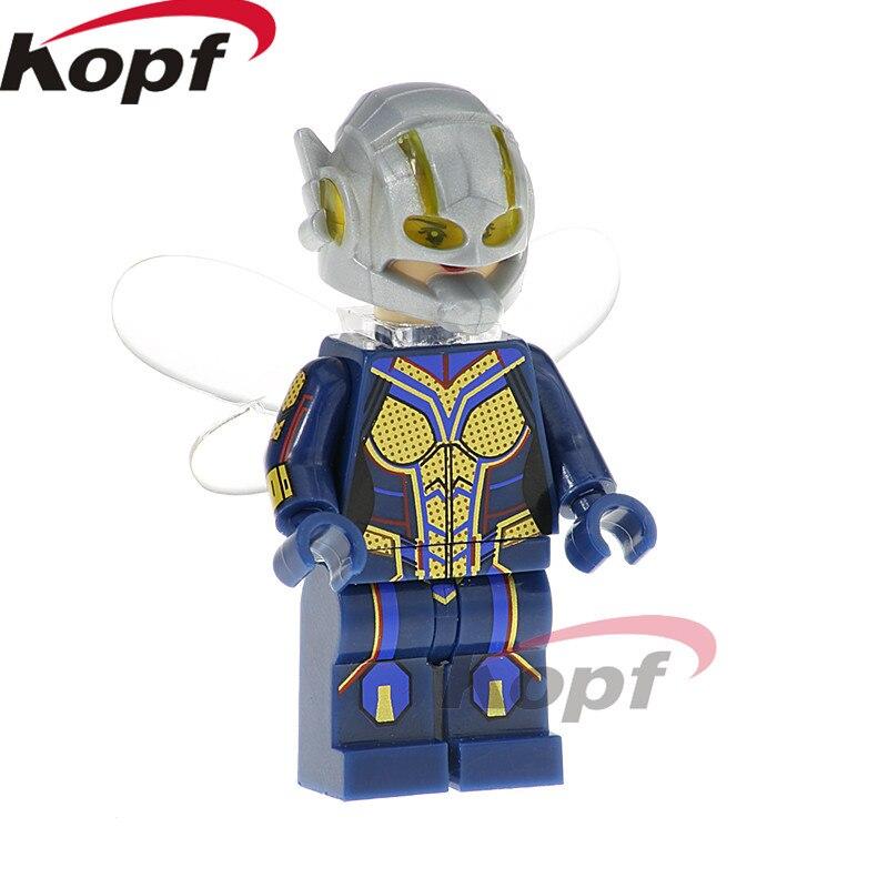 XH 826 Super Heroes Wasp Infinity War Gamora Iron Man Doctor Stranger Falcon Building Blocks Bricks Action For Children Toys