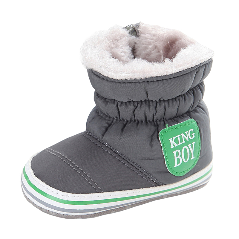Newborn Baby Boys Boots Unisex Kids Winter Shoes Crib Bebe Infant Toddler Snowfield Snow Boots