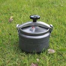 Outdoor pressure cooker camping High altitude available Safety Explosion proof Pressure pot Portable Cookware 2per lot aluminum pressure cooker safety plug vent hole pressure cooker accessories