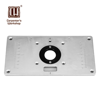 Carpenter S Workshop High Quality 1PC 235mm 120mm 8mm Router Table Insert Plate With 4pcs Insert