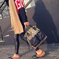 2017Women's Fashion Handbag Leopard ladies Shoulder Bag Tote Bag large capacity female messenger bags sacs a main bolsa feminina
