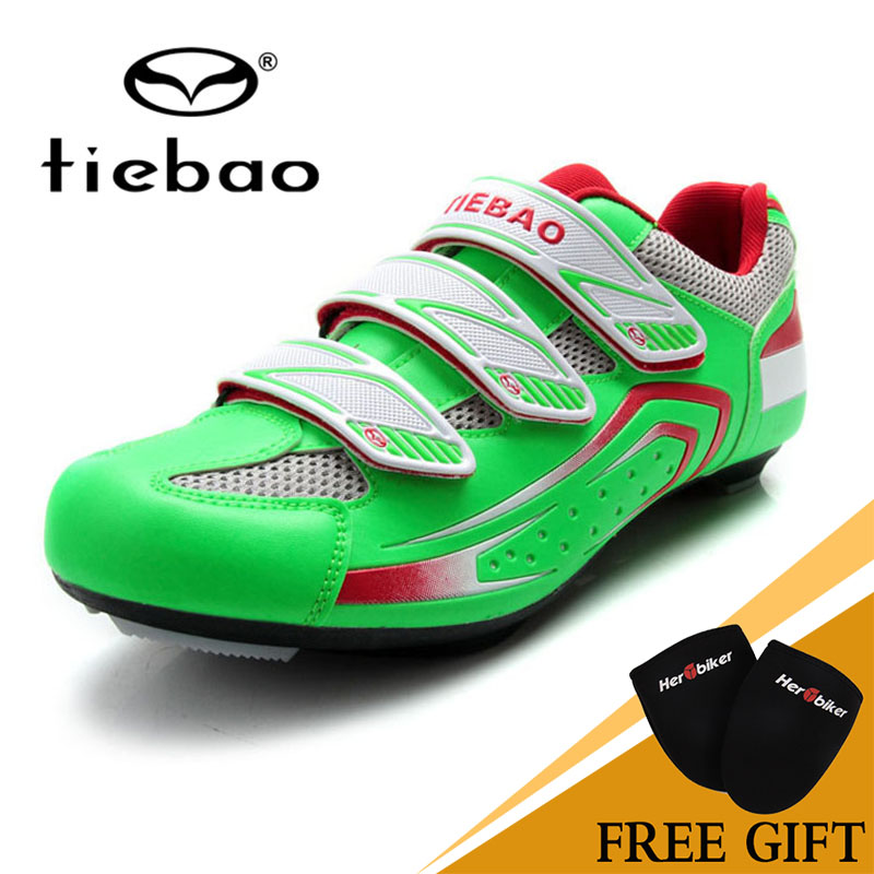 2017 NEW Tiebao Cycling Shoes Cycling Equipment National Flag Series Self-Locking Zapatos Professional Road Highway Shoes