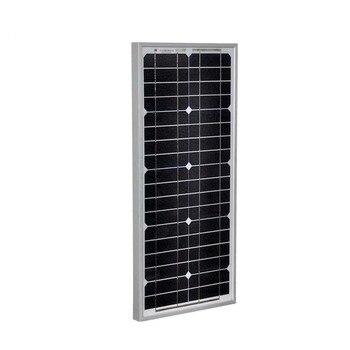 Outdoor Solar Panel 12V 20W Monocrystalline Solar Battery Charger Portable Solar PV Module Camp Solar Tuinverlichting Light