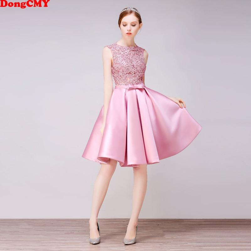 DongCMY Short New Arrival Cocktail Dresses Party Plus Size Women Lace Gown