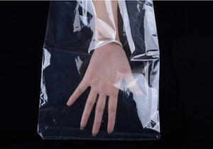 200 sztuk 7.5x20 cm (2.9x7.8 cal) pcv folia termokurczliwa torba do pakowania przezroczyste termokurczliwe Film owijania Membarne opakowania do sprzedaży detalicznej torba