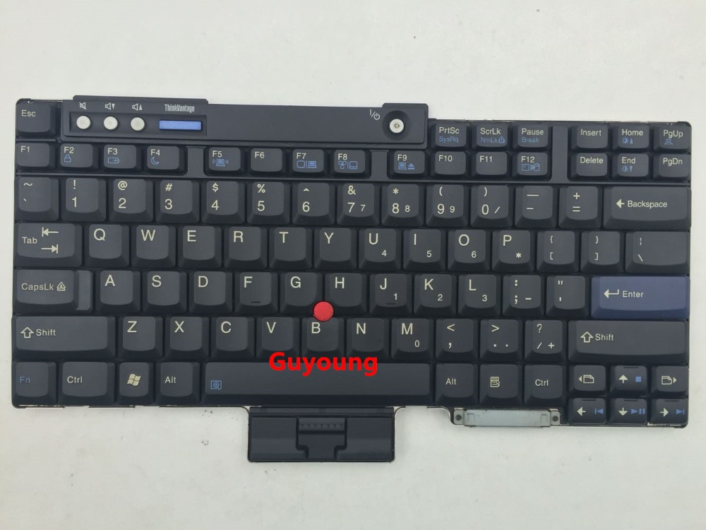 US English Laptop Keyboard For Lenovo ThinkPad T60 T61 R60 R61 Z60 Z61 R400 R500 T400 T500 W500 W700