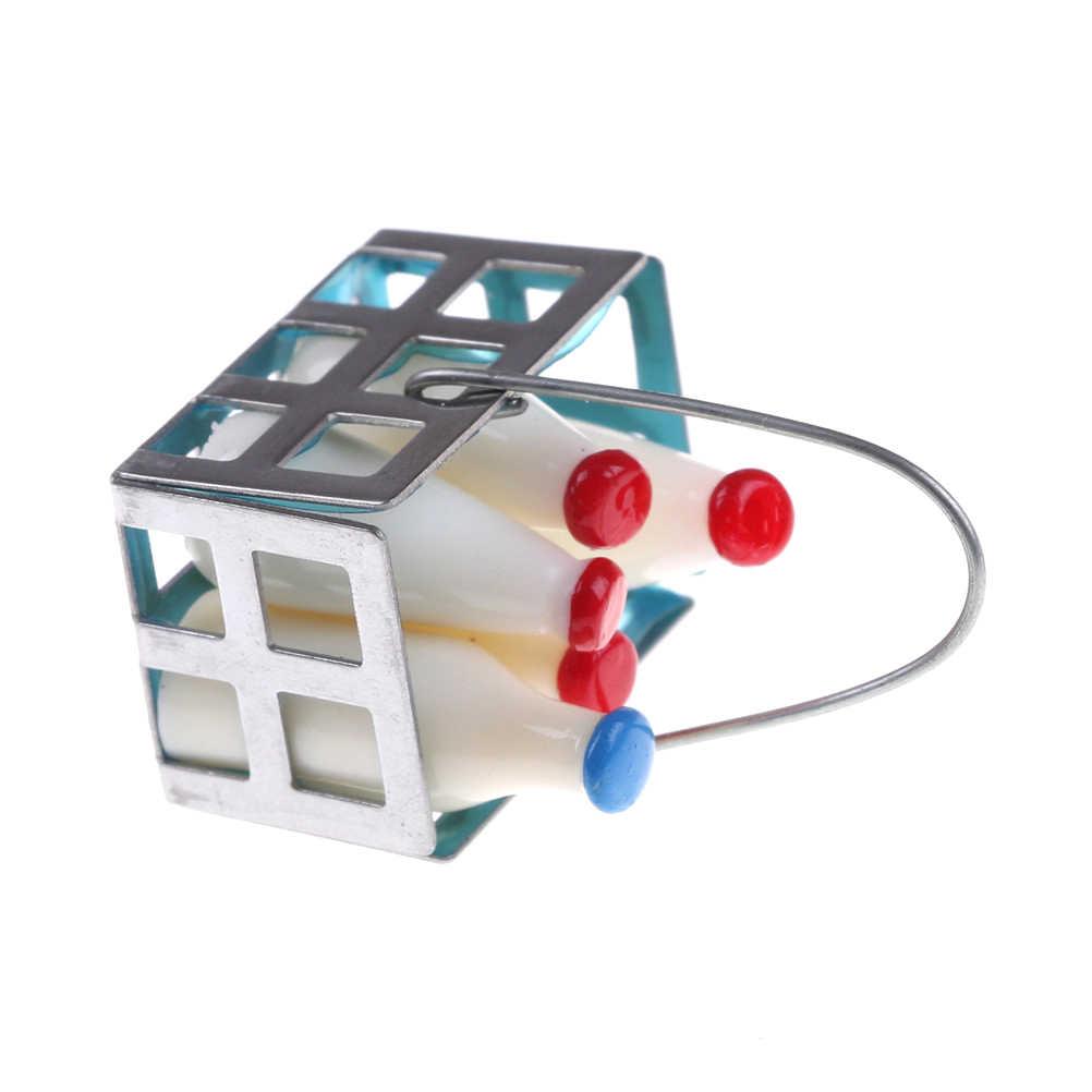 1:12 Кукольный домик Миниатюрный ментальный + Смола мини молочная корзина пять бутылок домик для ребенка мебель Фастфуд игрушка