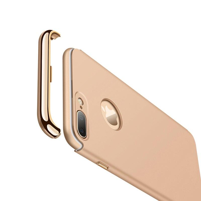 KOOSUK Nytt mode bakomslag för iphone 7 Plus fodral Coque 3 i 1 - Reservdelar och tillbehör för mobiltelefoner - Foto 3