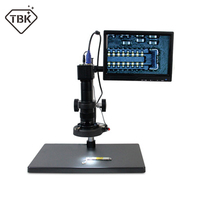 TBK 10A HD 10~180x Professional Microscope Electronic Display Amplification Magnifier For Iphone BGA CPU Maintenance Tools
