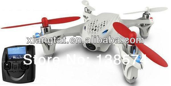 Whosale Hubsan Micro X4 2.4GHz 4 Channel Mini Quadcopter UFO FPV H107D 4CH Helicopter with Camera led light avion radiocommande