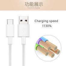 10PCS For Usb Type C Type-c Cable Usb-c 1m Converter Charge Charging Adapters for HUAWEI P9/G9 LG G5 Zuk Oneplus 3 5