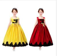Kids Girls Sleeveless Wedding Party Pageant Princess Slip Dress Camisole Multicolor