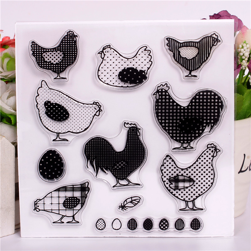 Women's Hair Accessories Bright Women Rubber Band Candy Colors Chicken Card Childrens Headdress Wild Seamless Stitching Rope Girl Hair Ring Korean Version
