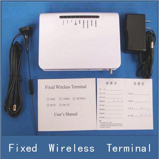 bilder für Neue GSM Gateway Fixed Wireless Terminal Für Sim Karte Connect Home Desk Telefonleitung Alarmanlage System zu Telefonieren anruf