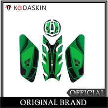KODASKIN 3D Printing Gas Cap Fuel Tank Pad Sticker Decal Protection for Z900 Z650 NINJA650 ER6F Green Color kodaskin 3d printing gas cap fuel tank pad sticker decal protection for duke390 2012 2016
