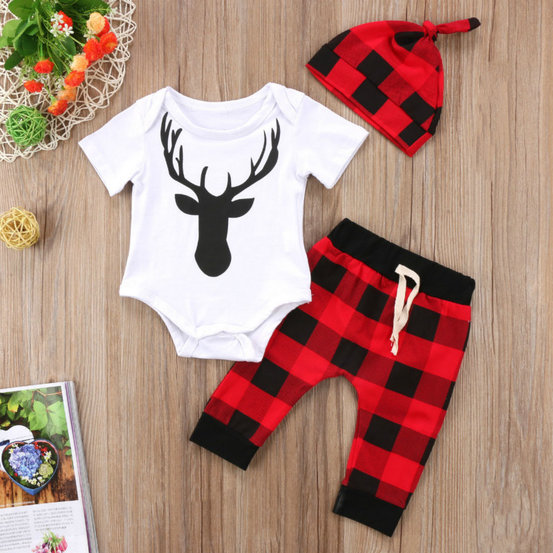 Nouvelles filles vêtements ensembles bébé enfants vêtements costume enfants manches courtes T-Shirt + pantalon + chapeau roupas infantil meninas