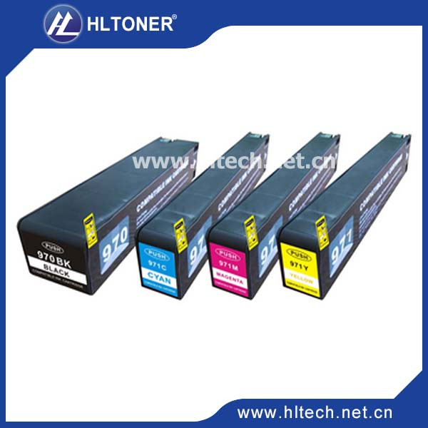 970xl 971xl ink cartridge compatible  HP Officejet Pro X451dn Printer/X451dw /X476dnMFP/X476dwMFP/X551dw X575dw X576dw for hp 970 970xl ciss ink cartridge permanent chip for hp officejet pro x451dn x551dw x476dn x576dw printer