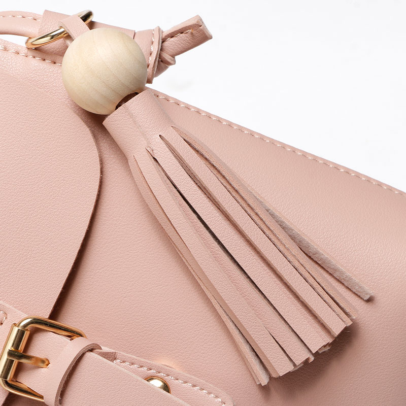 REPRCLA Fashion Tassel Shoulder Bags PU Կաշի Կանանց - Պայուսակներ - Լուսանկար 6