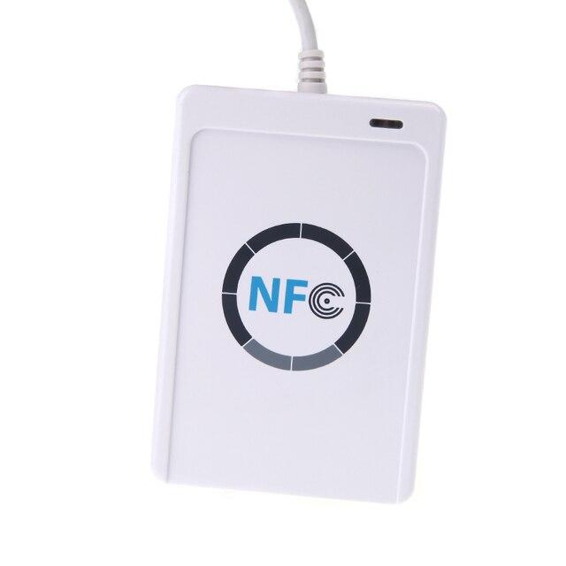 Nfc ACR122U rfid-тегов смарт USB порт и писатель с 5 шт. Mifare доступ исо 14443