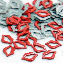 SINUAN Fashion Rivets Hot-Fix Rivet Lip Decorative Rivets Painted Metal Punk Spikes Zinc Alloy Studs Craft Beads For Clothes