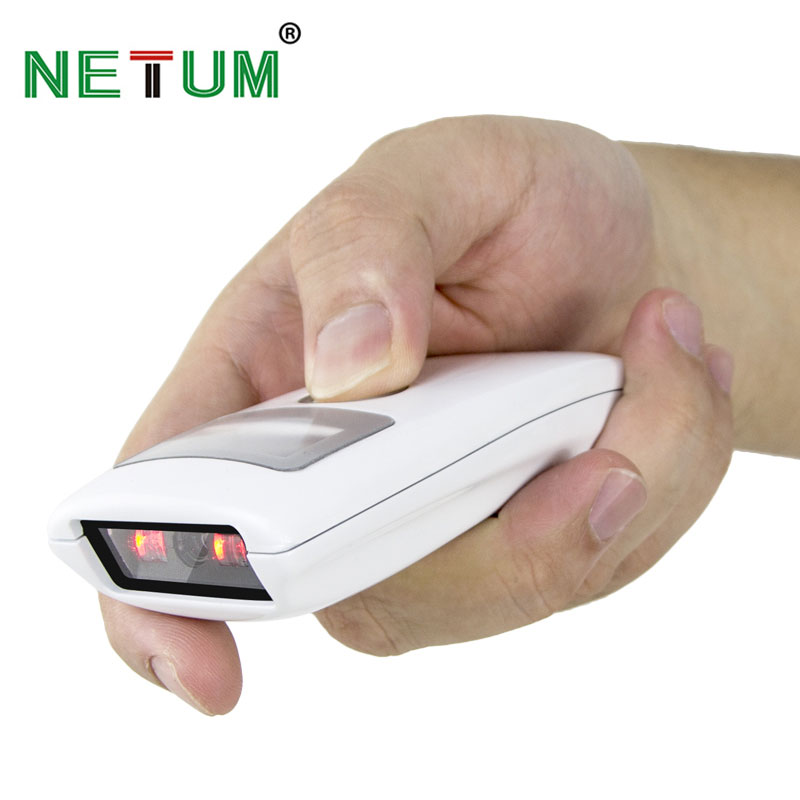 NETUM Bluetooth CCD Barcode Scanner Wireless Bar Code Reader for Mobile Payment Screen for Android SPP and IOS HID NT-Z3S scanhero pocket wireless bluetooth barcode scanner laser portable reader red light ccd bar code scanner for ios android windows
