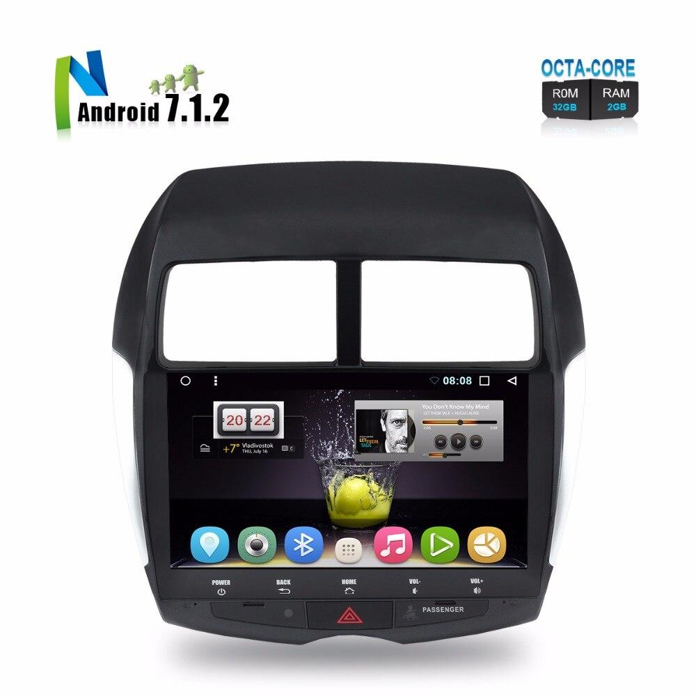 цена на 10.1 Android Car Stereo For Mitsubishi ASX RVR Citroen C4 Aircross Peugeot 4008 Auto Radio GPS Navigation Backup Camera No DVD
