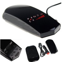 Radar Detector with LED Display Anti Radar Detector Russian & English Voice Detectors Car Alarm Vehicle Speed Control#