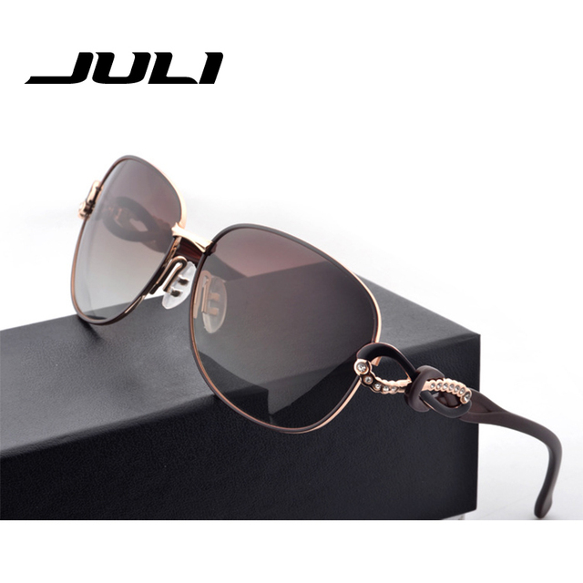af56fa0f911c JULI Sunglasses Women Fashion Sun Glasses Polarized Gafas Polaroid  Sunglasses Women Brand Designer Oculos de sol femenino A164C