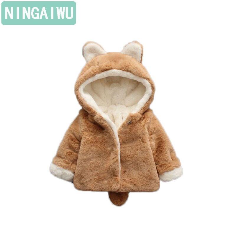 Baby Mädchen Winter Kleidung Und Jungen Baby Warme Baumwolle Gefütterte Kinder Kleidung Mantel Freizeitjacke 0-1-2 Jahre Baby Oberbekleidung Ausgezeichnete