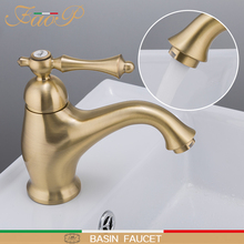 FAOP basin faucets gold faucet for bathroom sink basin mixer tap waterfall faucet mixer tap bathroom sink faucets tapware цена
