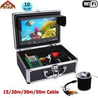 Stardot FishFinder Camera 10 1000TVL Lights Controllable Underwater Fishing Camera Kit Lake Under Water Video Fish Finder