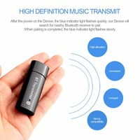 YU 104 USB Bluetooth 4 0 Transmitter High Definition Music Transmit For Computer TV Free Drive
