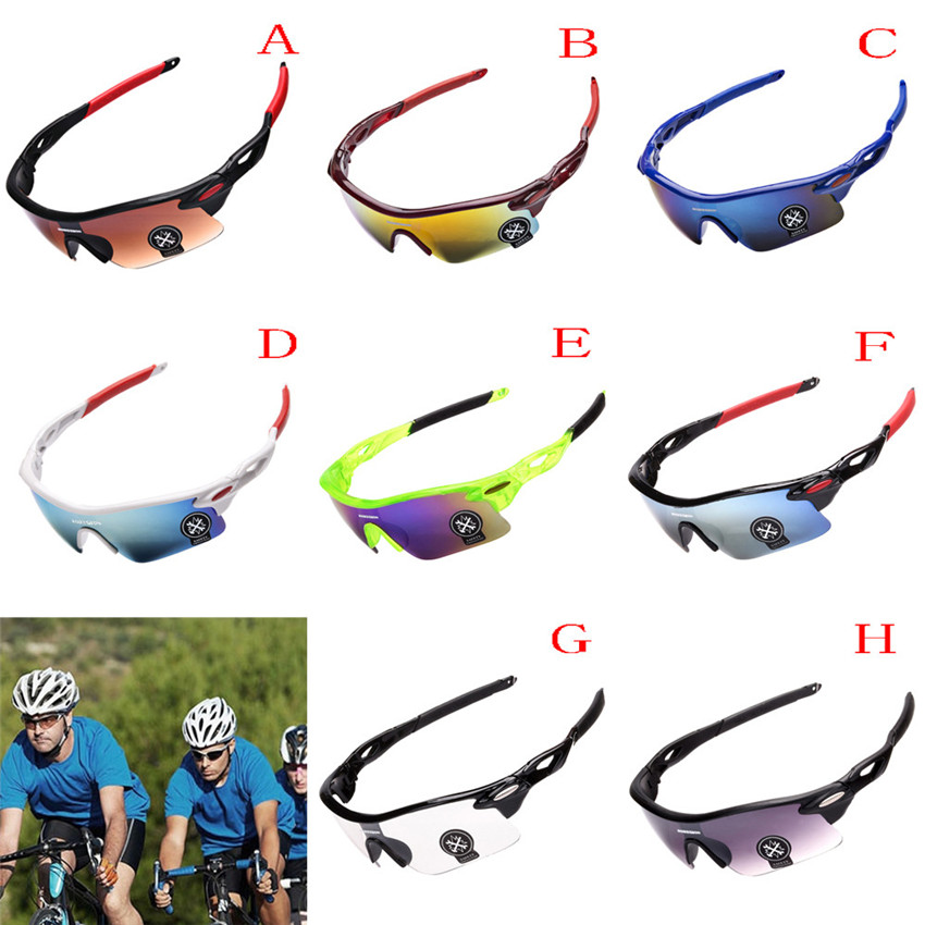 Men Women Outdoor Sport Mountain Cycling MTB Bicycle Glasses Bike Bicycle Sunglasses Polarized Sunglasses 9 Colors M25