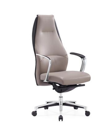 Leather boss chair fashion executive office chair ergonomic design high back computer chair.