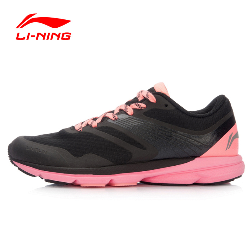 Li Ning Women s Rouge Rabbit 2016 Smart Running Shoes Cushioning SMART CHIP Sneakers LiNing Sports