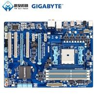 Original Used Desktop Motherboard Gigabyte GA A75 DS3P AMD A75 Socket FM1 AMD A E2 Athlon II DDR3 64G SATA3 USB3.0 HDMI ATX