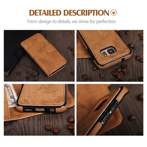 Image 5 - LANCASE For Samsung Galaxy S7 Edge Case Wallet Magnetic Flip PU Leather Case For Samsung S8 S9 S9 Plus S10 S10 PLUS Note 10 Case
