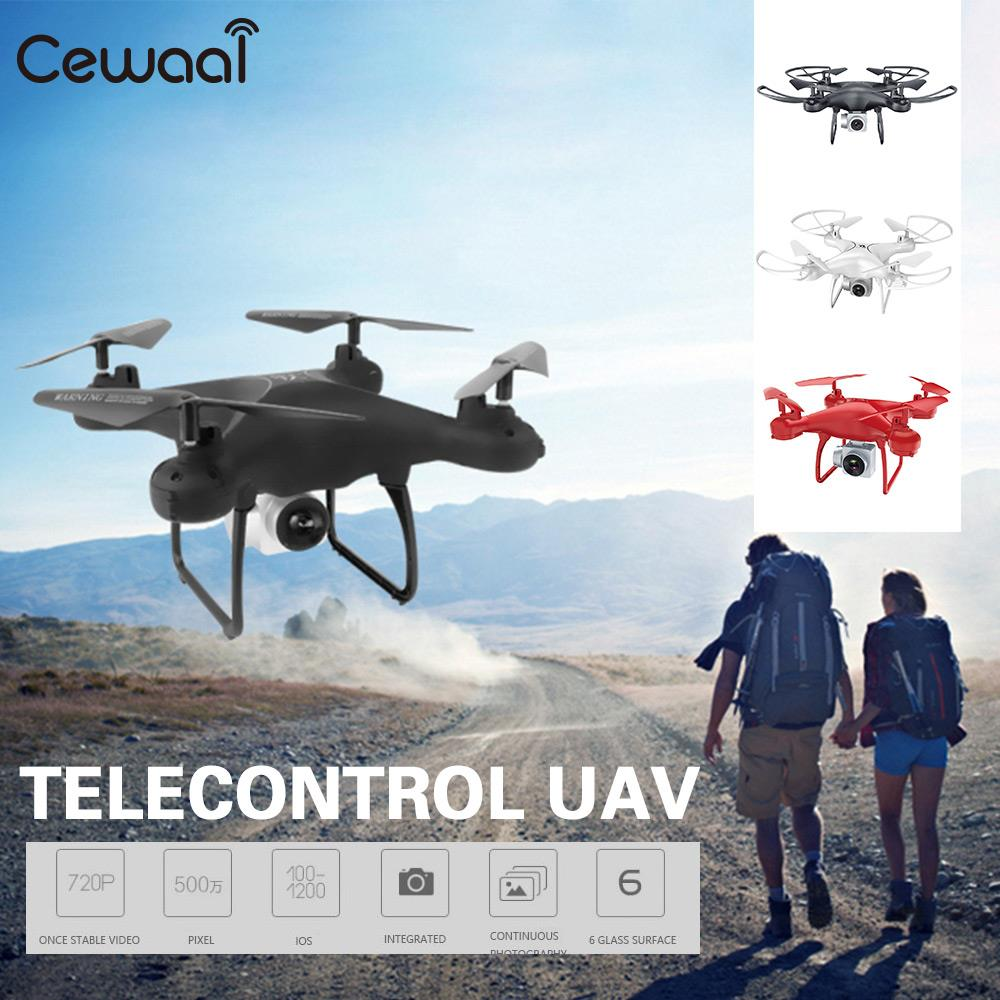 Professional Helicopter Aircraft Quadcopter Drone 2.4GHz APP 18min Flight Time Live Selfie LED Lighting