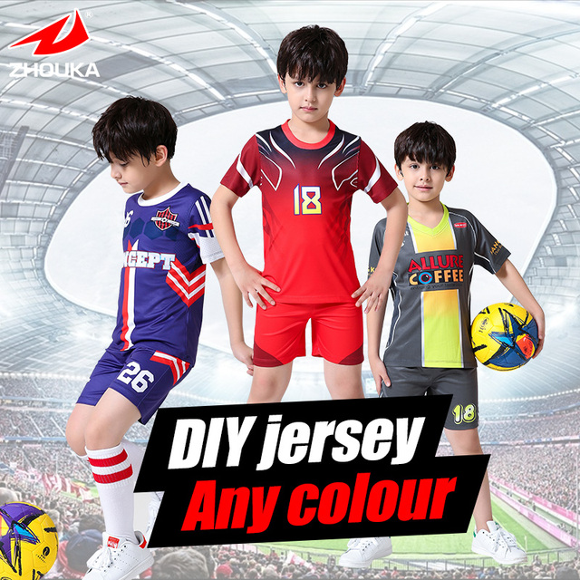 badd6d475 High Quality Wholesale Custom Baby Football Jerseys Personalized-in ...